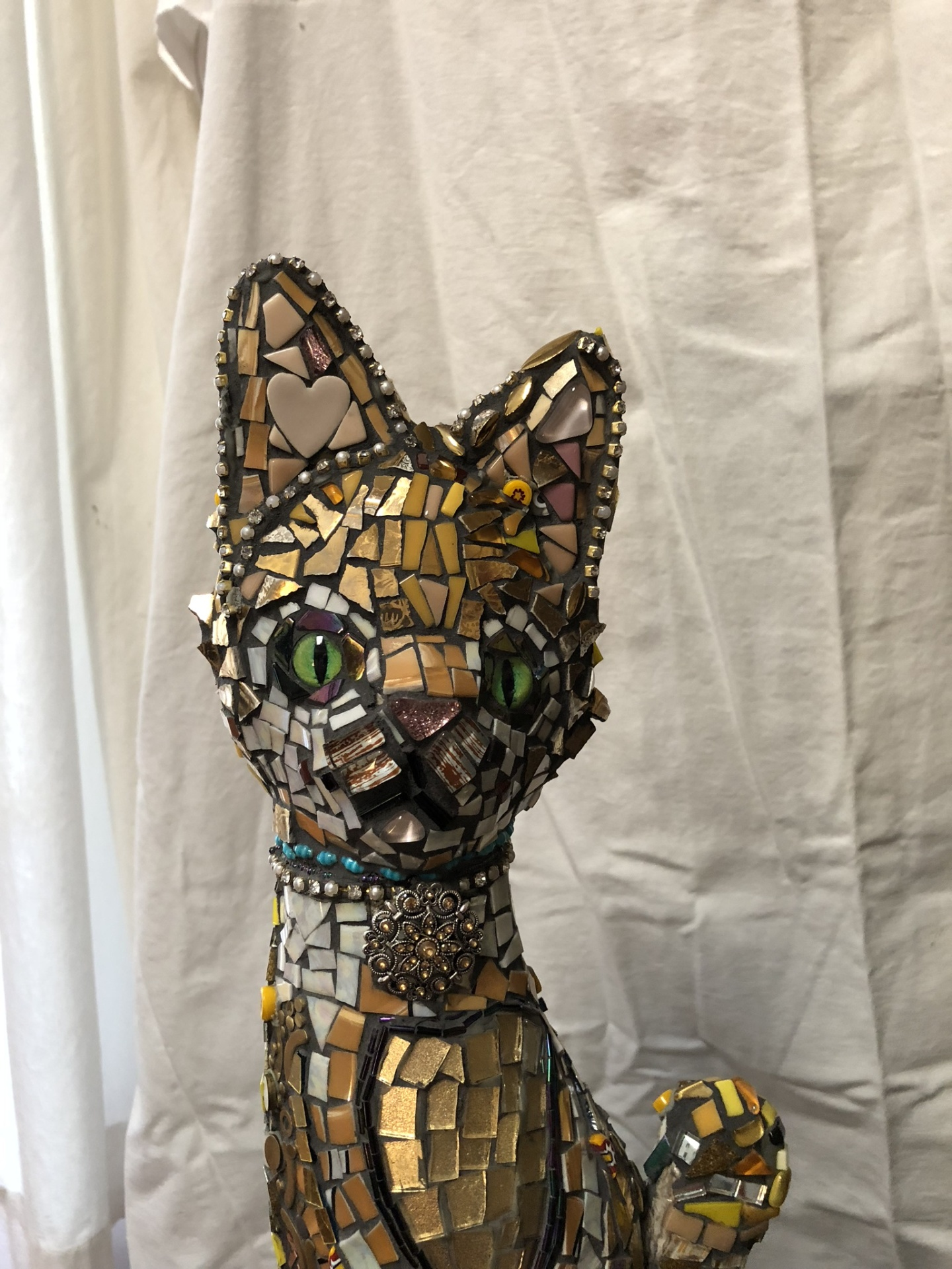 King of the Cats! New Sculpture!